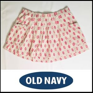 OLD NAVY Linen Blend Skirt with Pockets, M